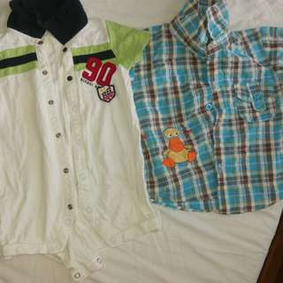 Boys clothing (up to 18 mths)