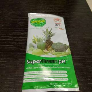 Supergreen super food ph Kale 綠粉