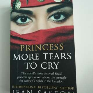 Princess more years to cry by Jean Sasson