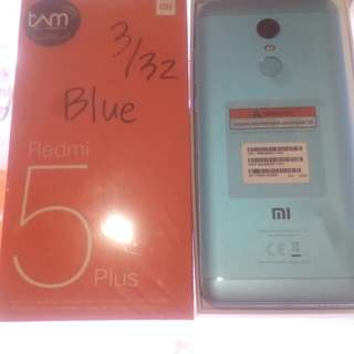 Xiaomi Redmi 5plus 4/64 Light Blue