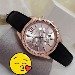 Mk Leather Watch 🦋Newest and latest🦋 pm😍