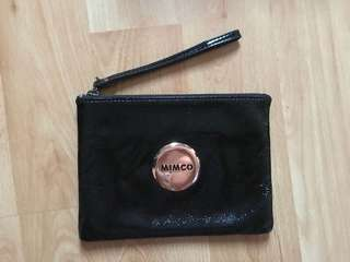 Mimco Medium Lovely Pouch Black
