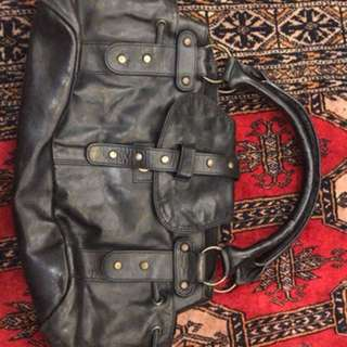 Classic Real leather hand bag