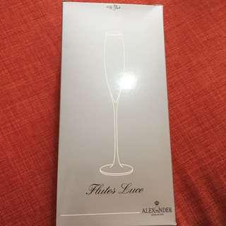 香檳杯一對