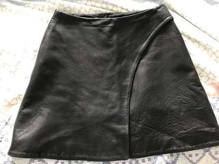 Kookai Leather skirt