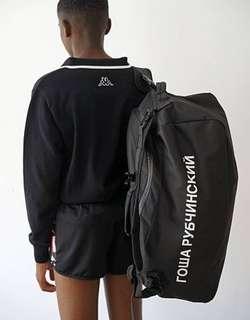 Gosha x kappa backpack travel bag 3用袋