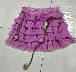 Authentic Gingersnap Pink Lace Skirt