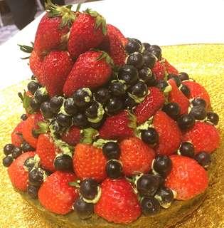 生日蛋糕 百日宴 婚宴蛋糕 低糖蛋糕 日本福岡士多啤梨