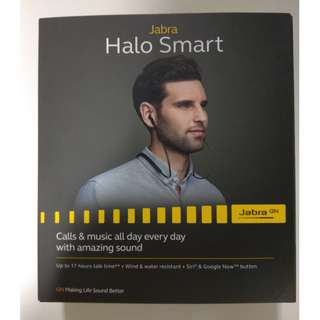 Jabra Halo Smart (New and sealed) Bluetooth wireless earphone neckband