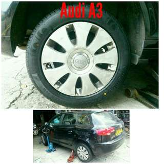 Tyre 205/55 R16 Membat on Audi A3 🐕 Super Offer 🙋♂️