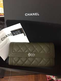 Boy Chanel Wallet 長銀包