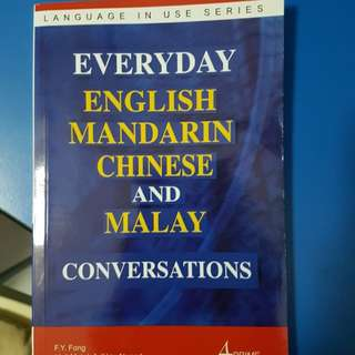 everyday english mandarin chinese and malay