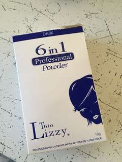 Thin Lizzy, pressed powder