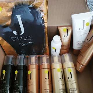 Jbronze Tanning Package