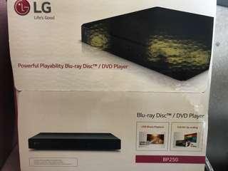 LG Blu-ray/ DVD Player BP250
