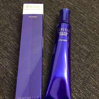 LF shiseido revital neck zone essence