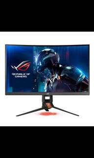 "Asus ROG Swift PG27VQ 27"" 165Hz Curved Gaming Monitor"