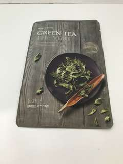 The Face Shop green tea face mask