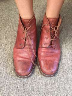 Vintage Valetto Leather Boots