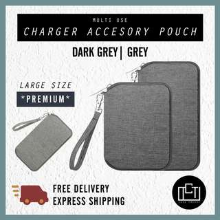 🔅cT🔅 Accessory charger cable pouch v3 makeup pouch wallet for laptop chargers laptop sleeve matching