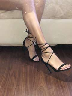 NEW MissGuided Lace Up Heels
