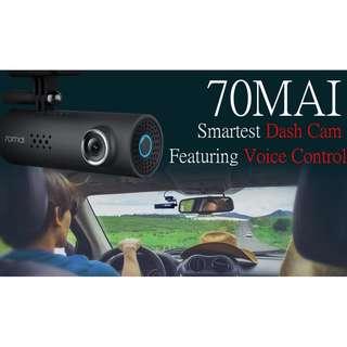 70 MAI Dash Cam - AI Powered Voice Control Smartest Dash Cam