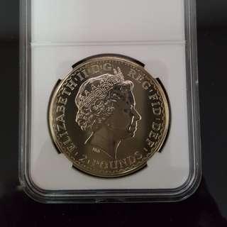 Britannia silver bullon coin