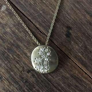 Virgo diamanté fine necklace not dior Laura catbird horoscope choker 處女星座碎石頸鍊