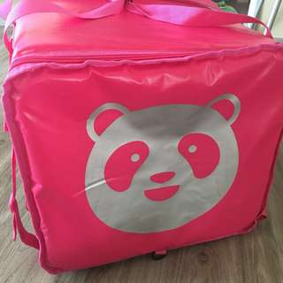 Food Panda Delivery Thermal Bag - Pink Model
