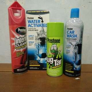 Prestone Car Wash Kits