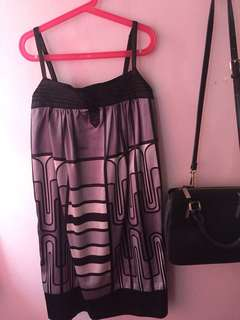 Abstract party dress