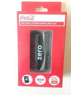 100% 全新未開 可樂 coca cola power bank 充電寶