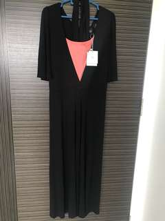 BNWT GG5 black jumpsuit