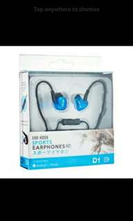 Daiyo Sports Earphones D1 (Wired)