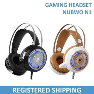 Nubwo N1 Over Ear Wired Gaming Headset / Headphones