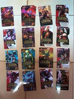 Garena league of legends cards