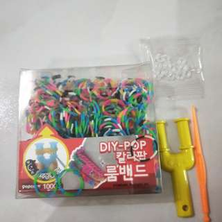 Rainbow Loom pack and extras