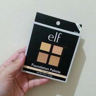 E.L.F. Foundation Palette