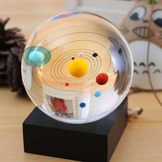 宇宙水晶球直徑8cm