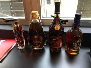 Alcohol for sale , martell vsop, chivas