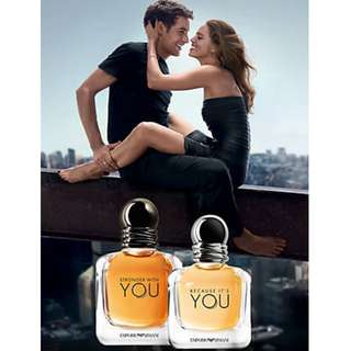 Emporio Armani Stronger With You  ( M ) 100ML ( ORIGINAL TESTER )