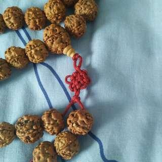 108 buddhist hindu rudraksha beads 佛珠 rosary mala