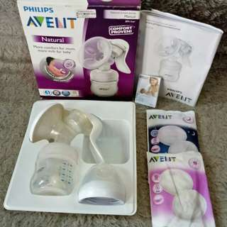 Philips Avent natural Breast Pump Manual