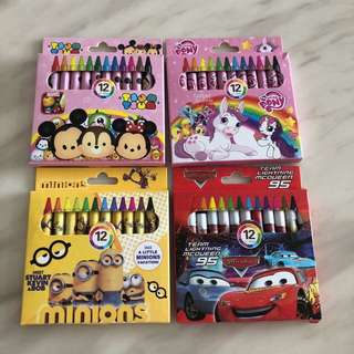 Crayon - children party gift, event door gift, goodies gift, goody bag packages