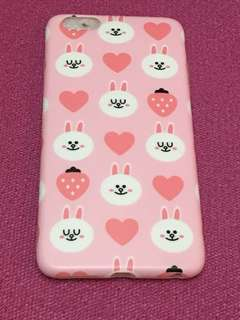 Line Friends Cony 兔兔Iphone 6S plus Case