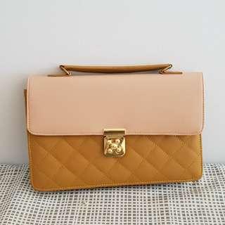 Two Tone Adjustable Bag