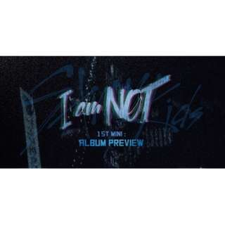 Stray Kids 1st Mini Album I Am Not + Photobook + Photocard + Poster + Postcard Book