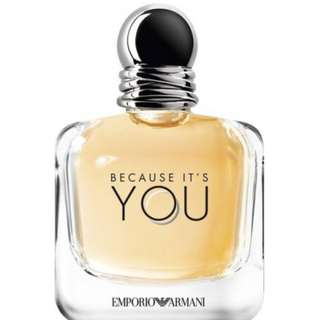 Emporio Armani Because It's You ( W ) EDP 100ML ( ORIGINAL TESTER )