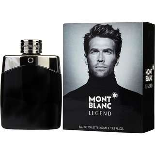 Mont Blanc Legend w FREE Mini bottle