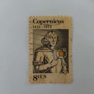 *ULTRA RARE* #1488c - 1973 8c Nicolaus Copernicus